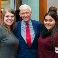 Roosevelt Hosts Discussion with Richard Marriott