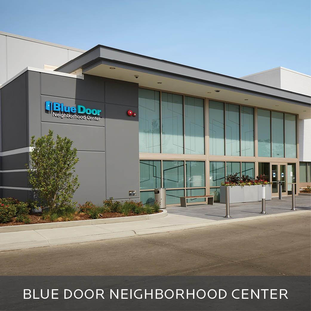 Blue Door Neighborhood Center building photo